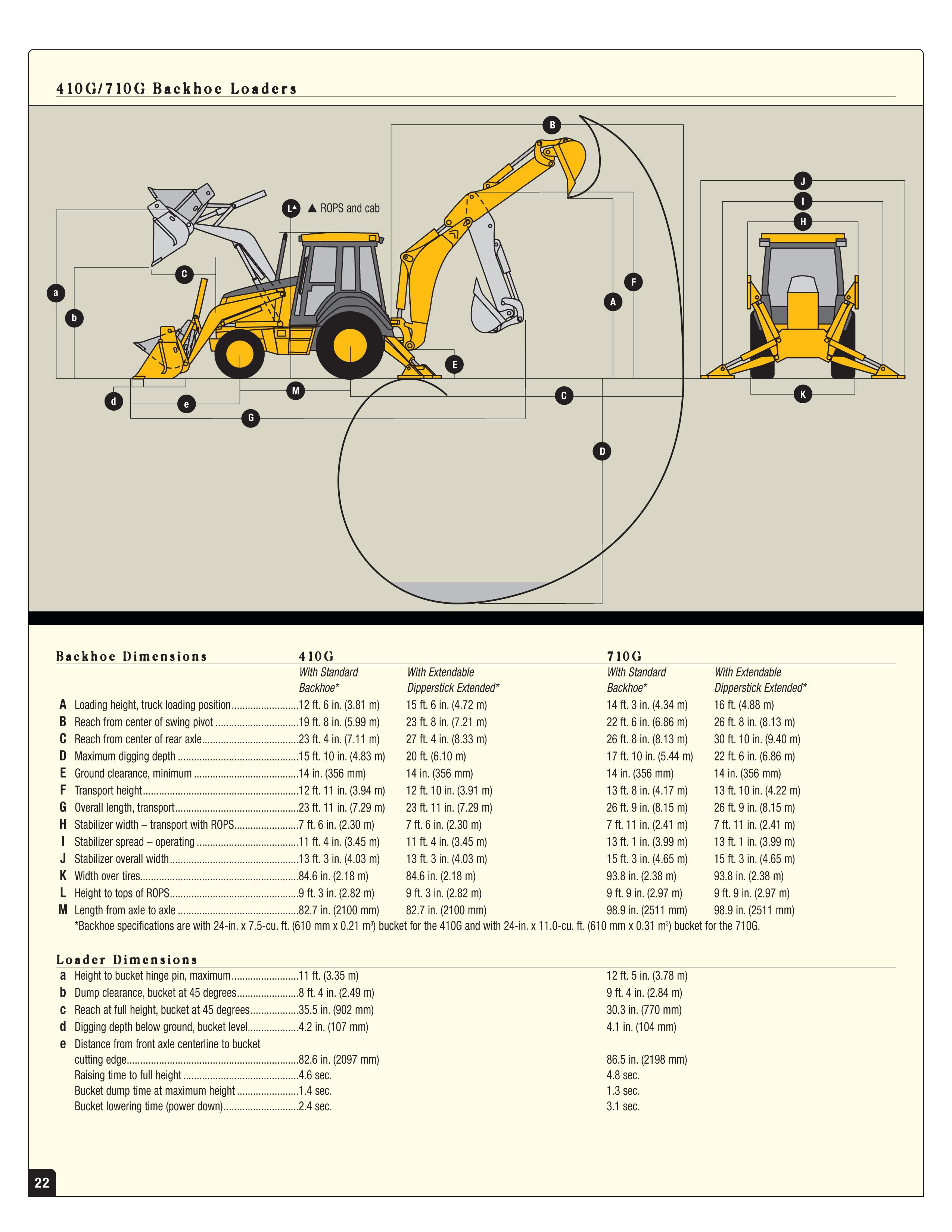 John Deere 410g Supplier Worldwide Used 410g Backhoe
