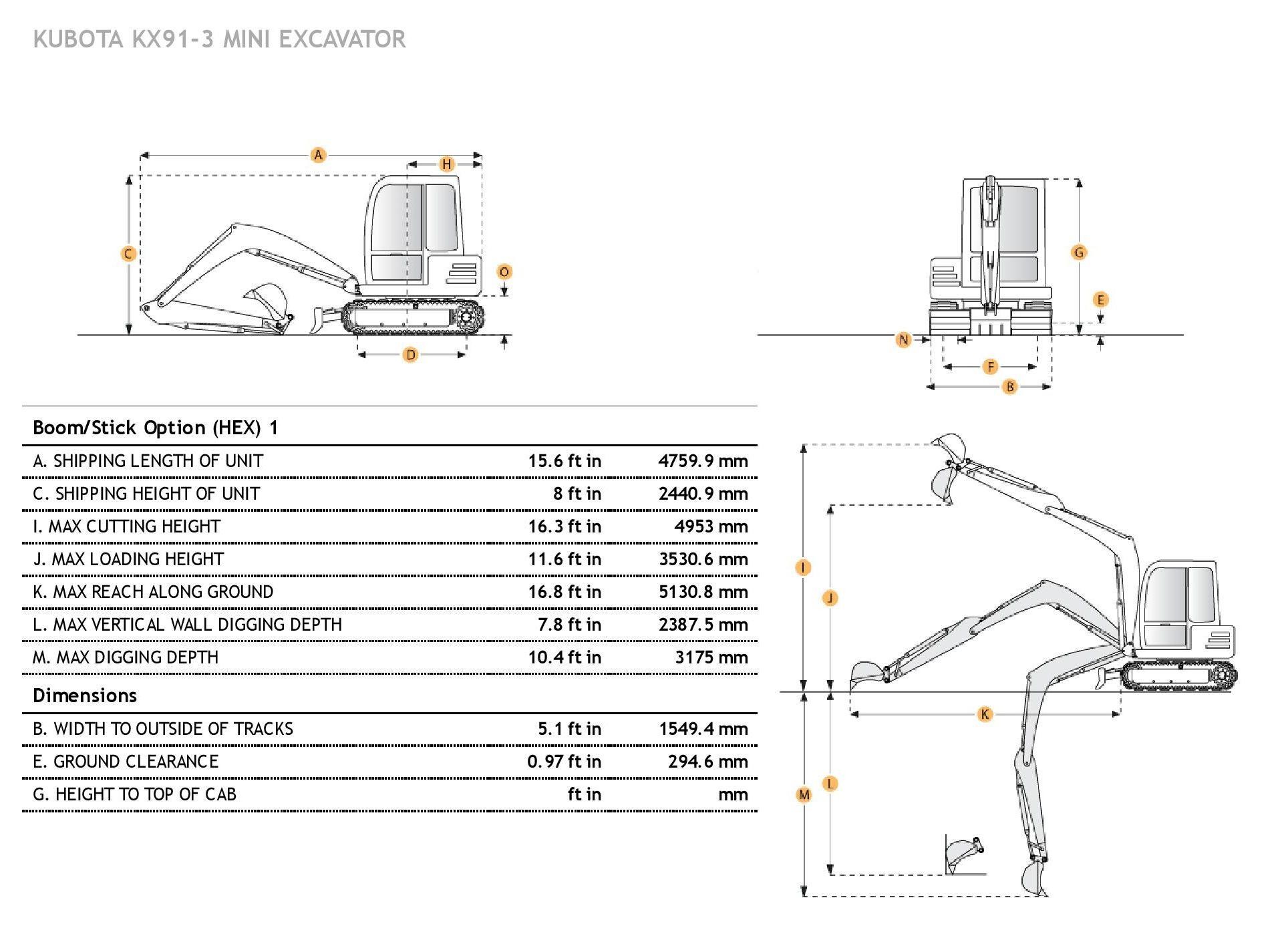 kubota excavator supplier worldwide