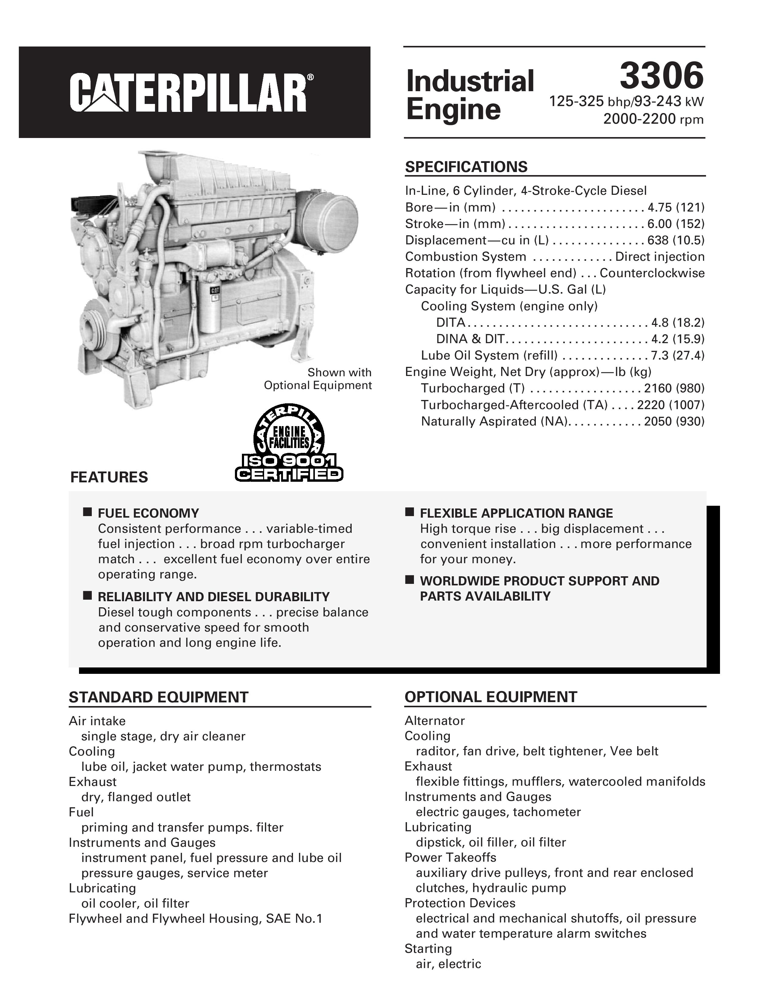 cat 3306 engine manual pdf