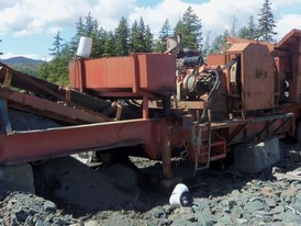 Hilltop 30 in x 42 in Jaw Crushing Plant