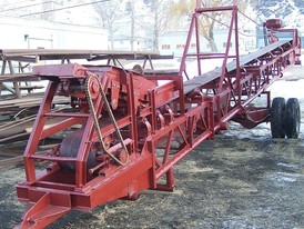 18 in x 44 ft Portable Conveyor