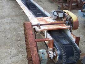 16 in x 30 ft Sand Conveyor