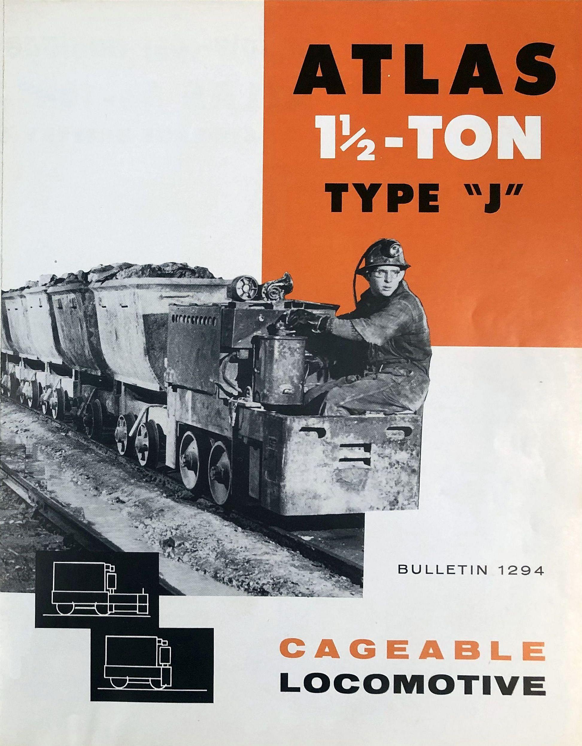 Atlas Type J Locomotive - 1