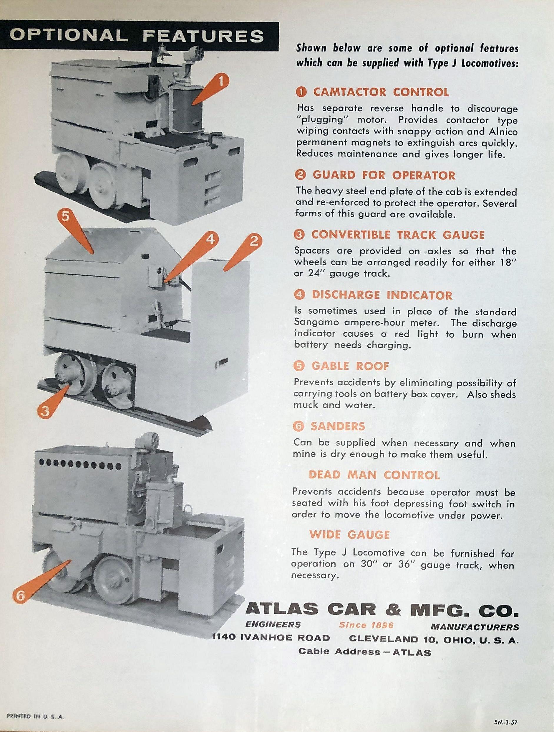 Atlas Type J Locomotive - 3