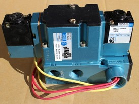 MAC 6200 Series 4 Way Solenoid Valve