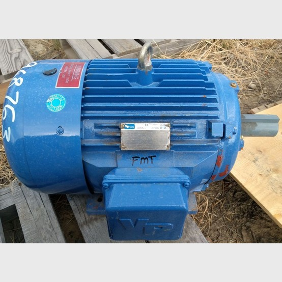 Vp Electric Motor Supplier Worldwide Used 15 Hp 575 Volt