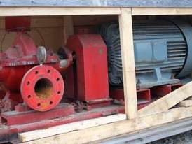 Peerless Split Case Fire Pump