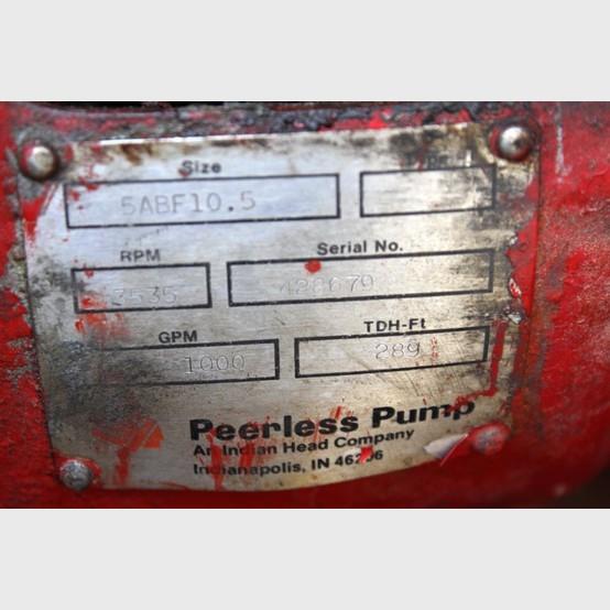 Peerless Split Case Fire Pump Supplier Worldwide | Used
