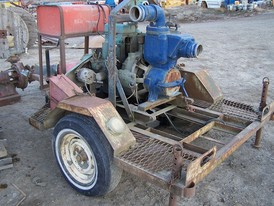 Gorman-Rupp 4 inch trash pump.