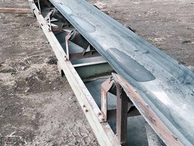 24 in x 30 ft Channel Conveyor