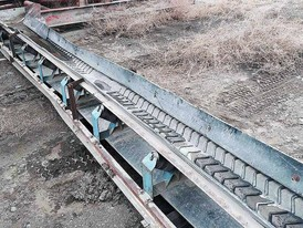 18 in x 20 ft Channel Conveyor