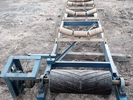 24 in x 18 ft Channel Conveyor