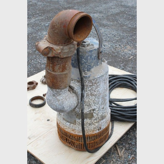 Flygt Submersible Pump Supplier Worldwide Used 13 Hp