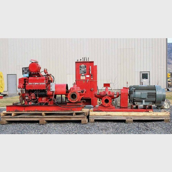 Used Aurora Emergency Fire Pump Package For Sale Aurora
