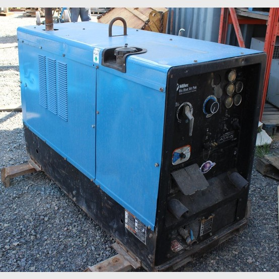 Used Miller Big Blue Air Pak Welder For Sale | Miller ...