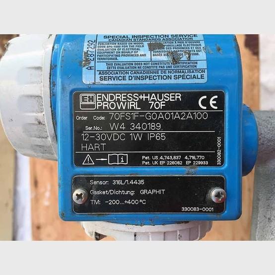Endress hauser Ultrasonic Flow meter manual