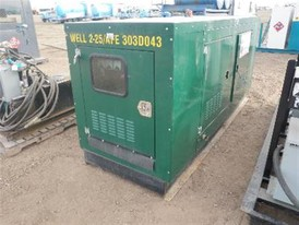Stamford 40 kW Natural Gas Generator
