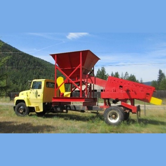 Used 20 To 60 Yard Mobile Wash Plant For Sale Custom