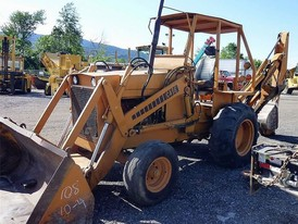 Case 680 Loader Backhoe