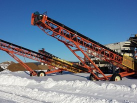 Eagle 30 in x 50 ft Stacking Conveyor