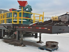 Cemco Model 80 Portable Crushing Plant