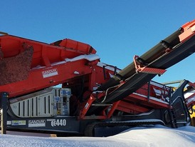 Sandvik QE440 Scalping Screen
