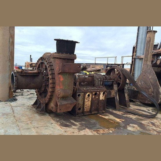 Metso Thomas Slurry Pump Supplier Worldwide | Used 16 in  Dredge
