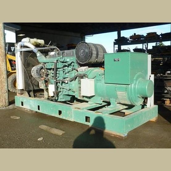 Volvo Penta Diesel Generator Supplier Worldwide | Used 225 kW Diesel GenSet For Sale