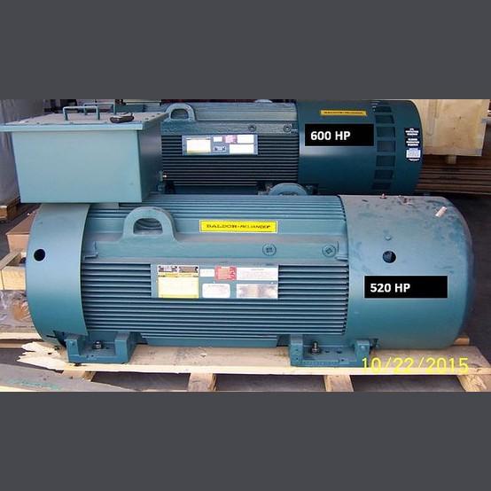 Baldor Electric Motor Supplier Worldwide Used 520 Hp