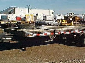 Trailtech 24 ft T/A Tilt Deck Trailer