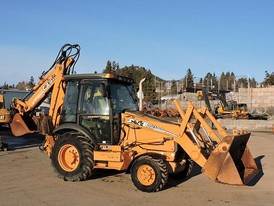 Case 580SM Series 2 Loader Backhoe