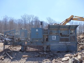 Brown Lenox 42 x 26 Portable Jaw Crusher