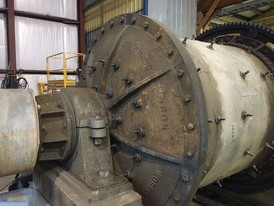Colorado Iron Works 6 ft x 6 ft Ball Mill