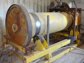 Custom 34 in x 10 ft  Grinding Mill