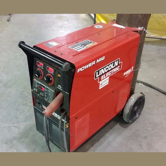 Lincoln Welders For Sale >> Used Power Mig 350mp For Sale Lincoln Electric Welder Supplier