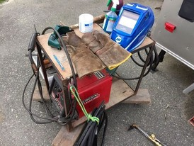Lincoln Electric SP175 Plus MIG Welding Package