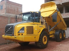 Volvo A25D Articulated Rock Truck