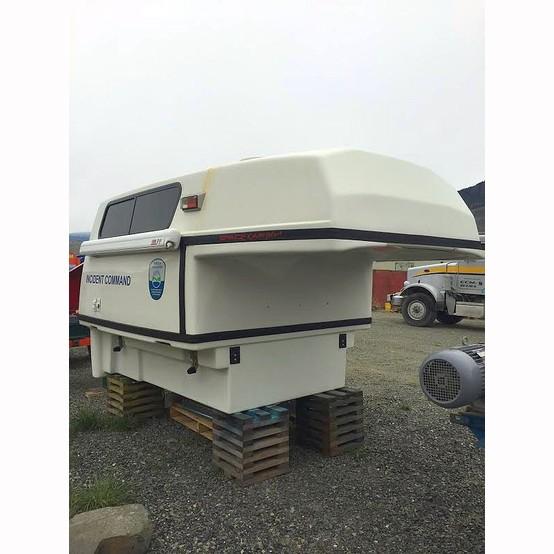 Truck Trailer Hitch >> Used SpaceKap Mobile Command Center For Sale | SpaceKap Truck Canopy Supplier Worldwide