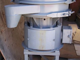 Used Sweco Vibratory Screen. 24 in. diameter. 2 Deck. 1/3 HP Motor.