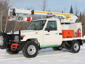 Toyota Aerial Lift Utility Truck