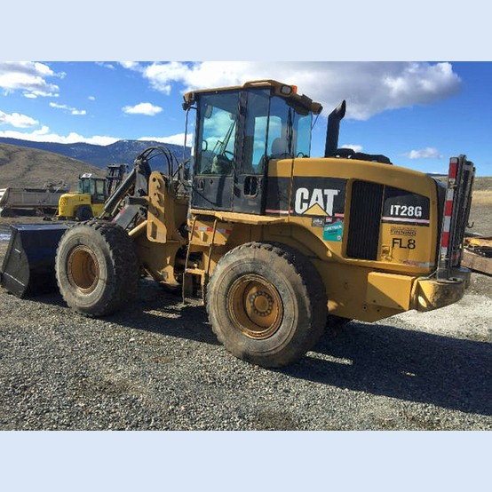 Used Cat It28g Intergrated Tool Carrier For Sale