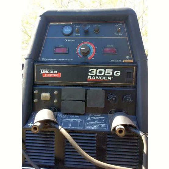 Used Lincoln 305G Ranger Gas Drive Welder For Sale   Lincoln