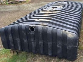 Wedco Low Profile 1500 Gallon Underground Tank
