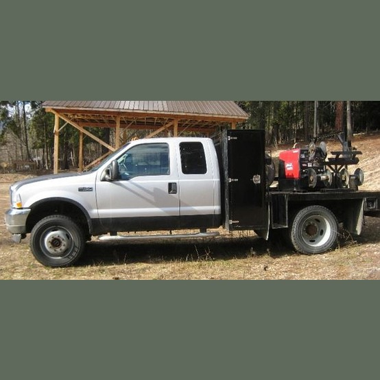 Used Ford F Welding Pickup Truck