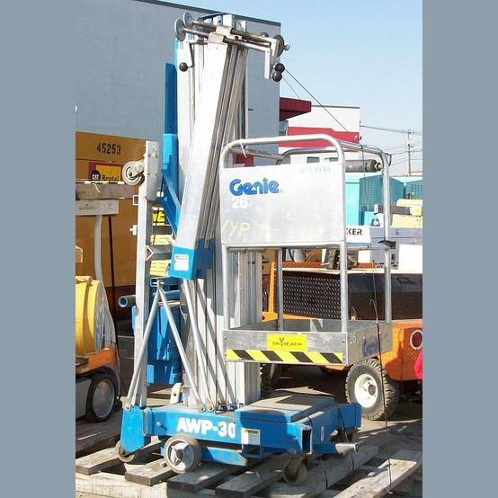 Genie Personnel Lift Supplier Worldwide | Used Genie AWP30 Man Lift