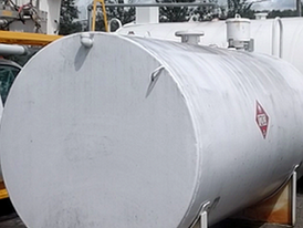 2,000 Gallon Steel Fuel Storage Tank
