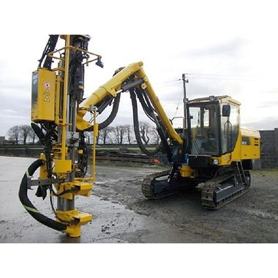 Used Atlas Copco Roc D7 11 Track Mounted Crawler Drill For