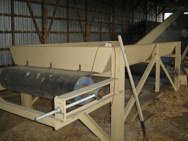 In-floor Incline Belt Conveyor