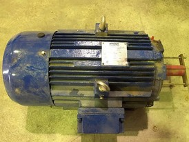 Brook Crompton TEFC 20 hp Electric Motor