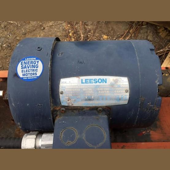 Leeson Electric Motor Supplier Worldwide Used 1 Hp 208